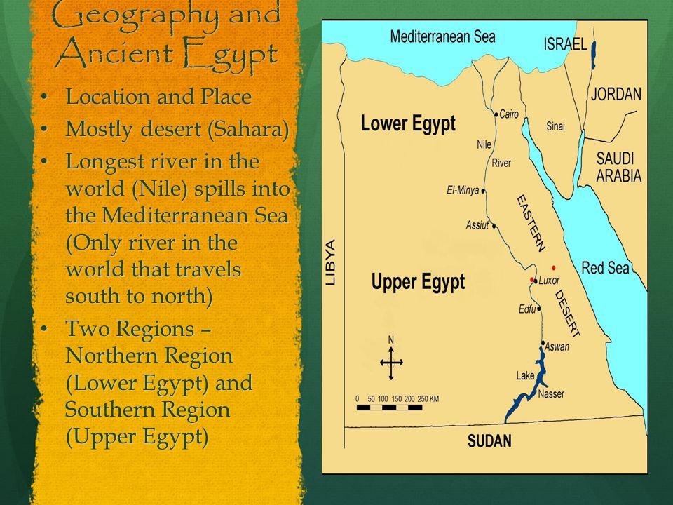 Ancient Egypt Monday September Tuesday September - Map of egypt location