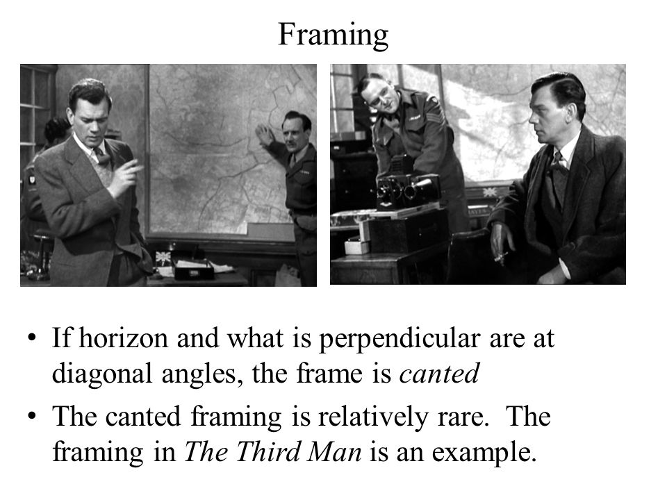 Introduction to Film Studies Mise-en-scène. Framing How to frame a ...