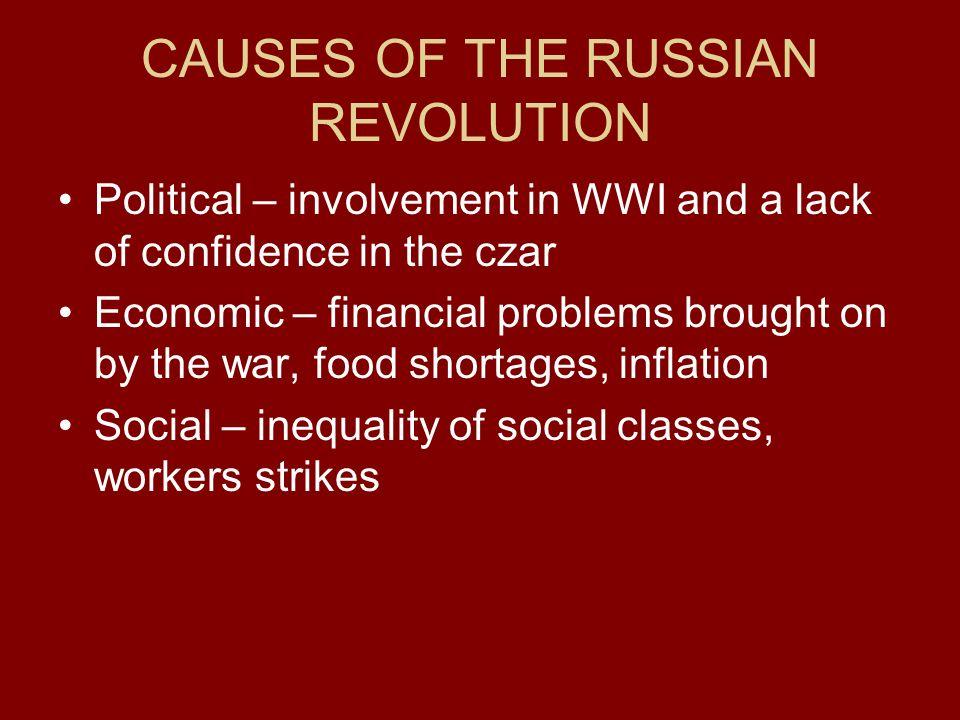 Russian Revolution/WWI?