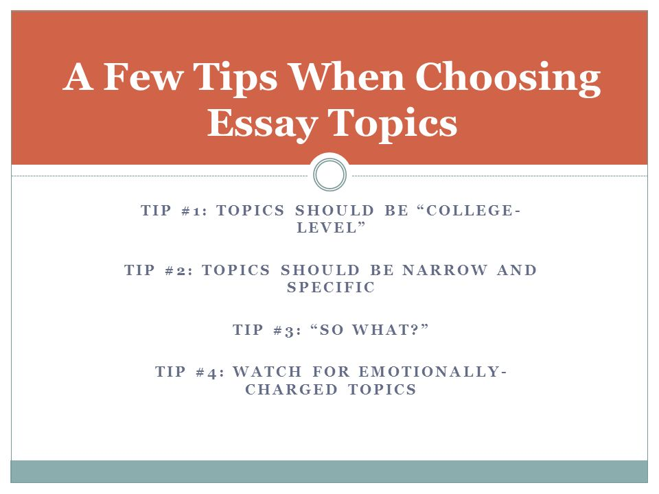 choosing essay topics thinking about topics during my first  4 car