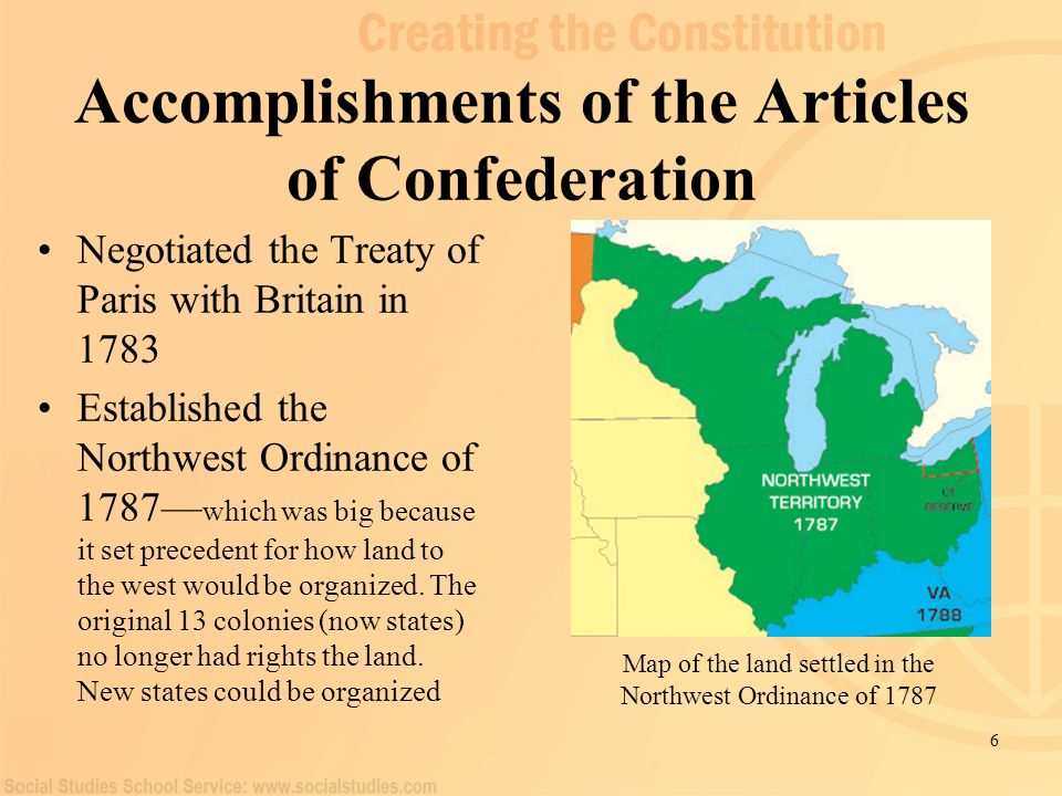 the different points of contentions in the original articles of confederation of 1787 The articles of confederationthe articles of confederation and perpetual union, commonly known as the articles of confederation, was the first governing document of the united states of america the articles, which combined the thirteen colonies of the american revolutionary war into a loose confederation, were adopted.