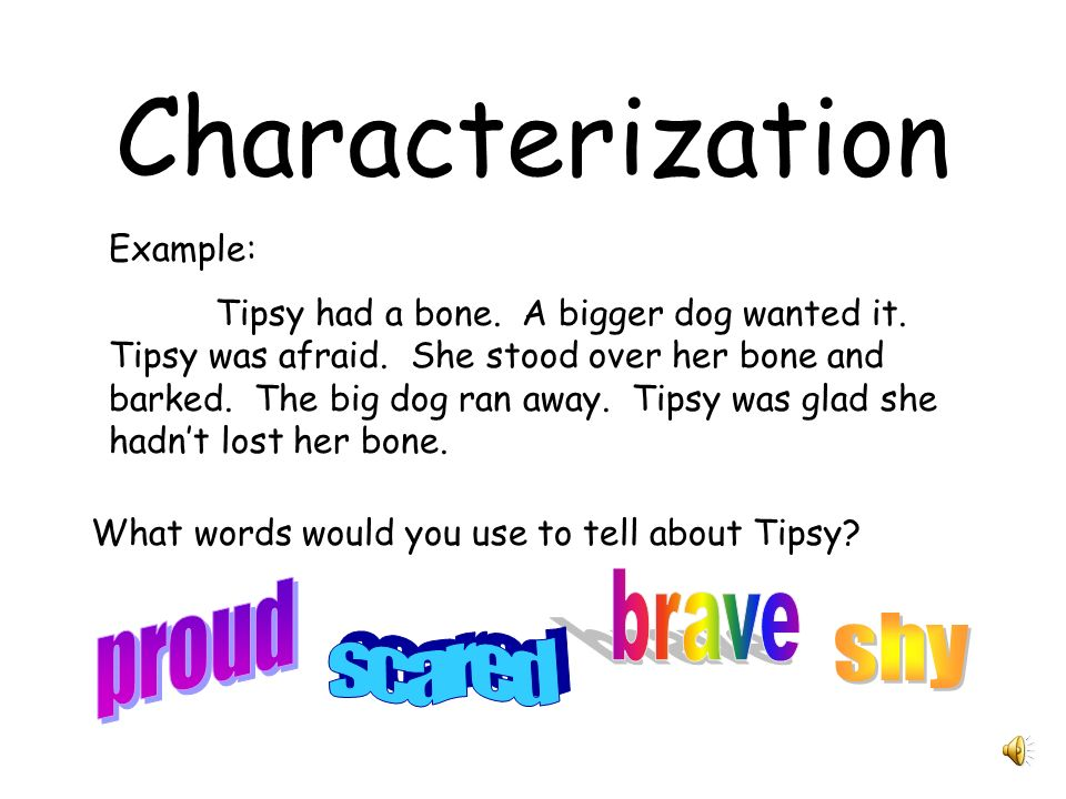 Example Of Characterization Choice Image Example Cover Letter For