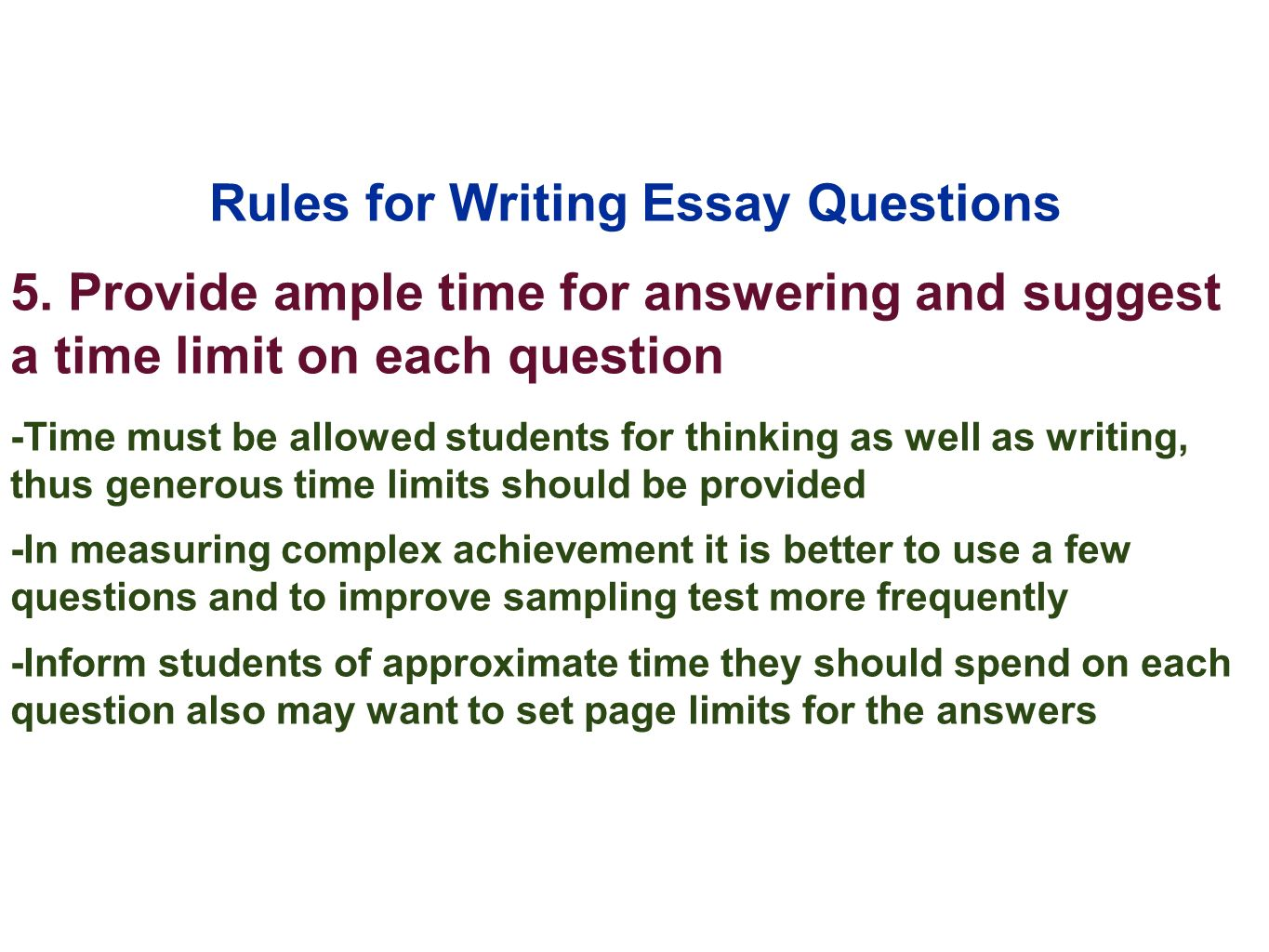 rules for writing a proper essay 5 essential rules for writing your college essay writing the college essay is a if i dropped this essay on the street and my good friend.