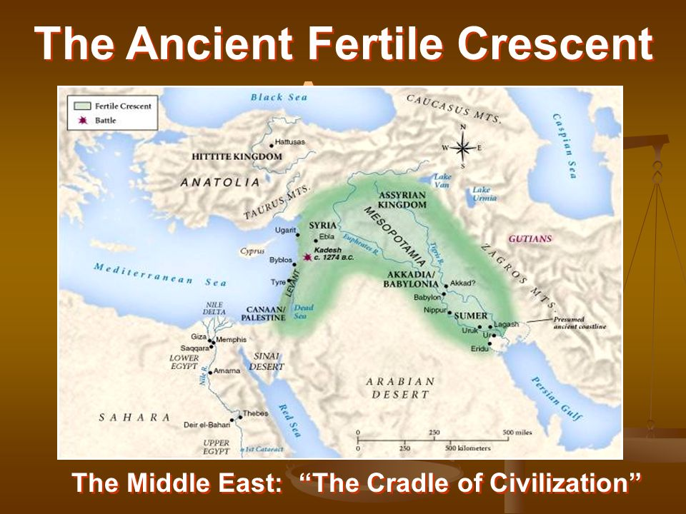 The Geography of Mesopotamia  the Fertile Crescent  ppt video