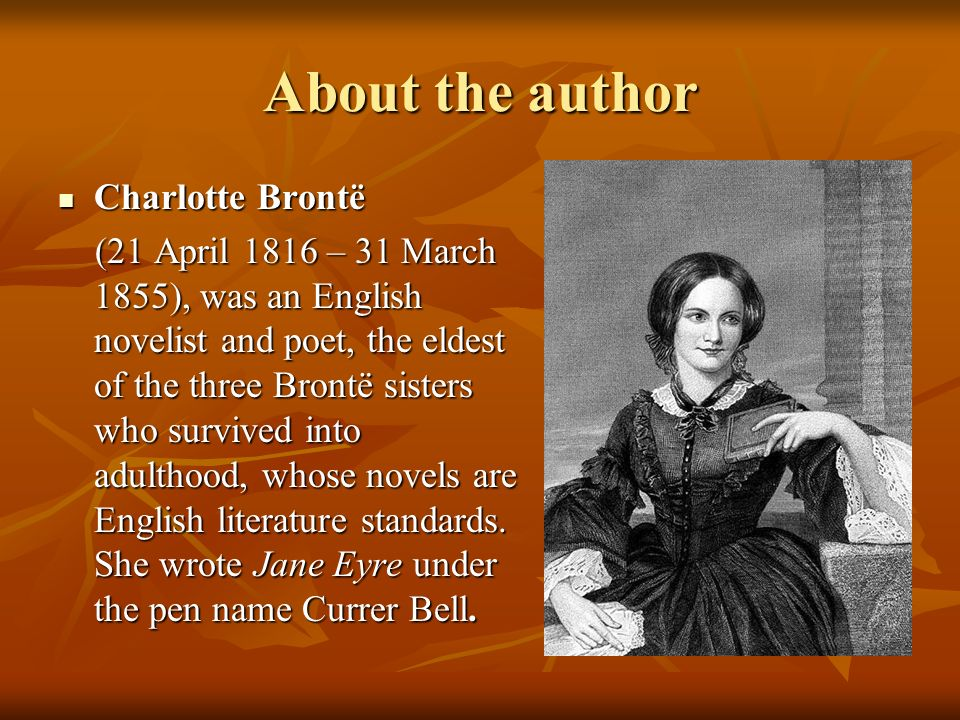 an analysis of janes complex personality in jane eyre by charlotte bronte Jane eyre character developments and attitudes english literature essay jane eyre, written by charlotte brontë, is a victorian novel in which brontë writes about the development of jane eyre's character as the book progresses.