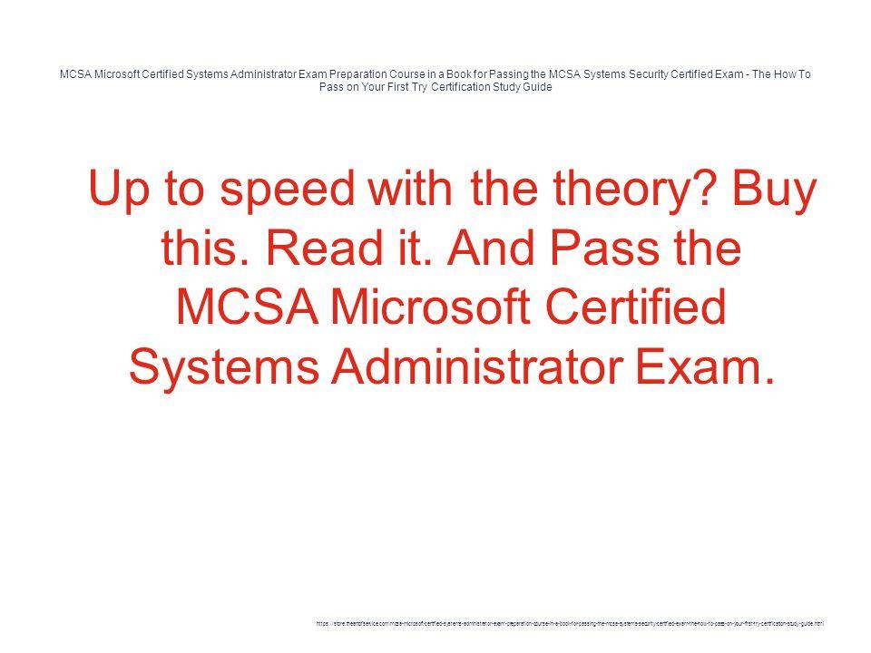 books for microsoft certification exam