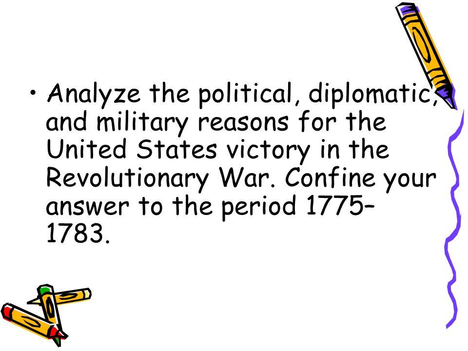 Revolutionary War Essay