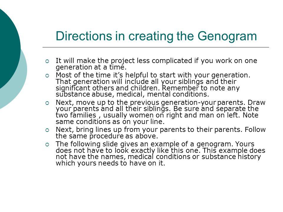 medical genograms
