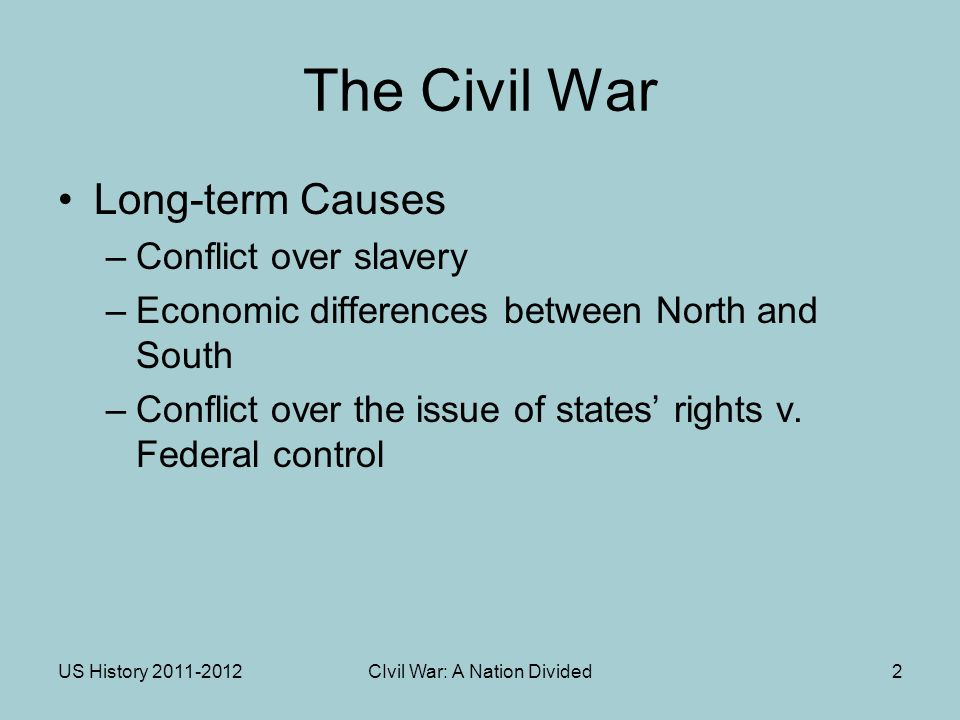 the issue of slavery in the civil war For the last time, the american civil war was not inevitably raise the issue of the established by slave-trade obscuring civil war history.