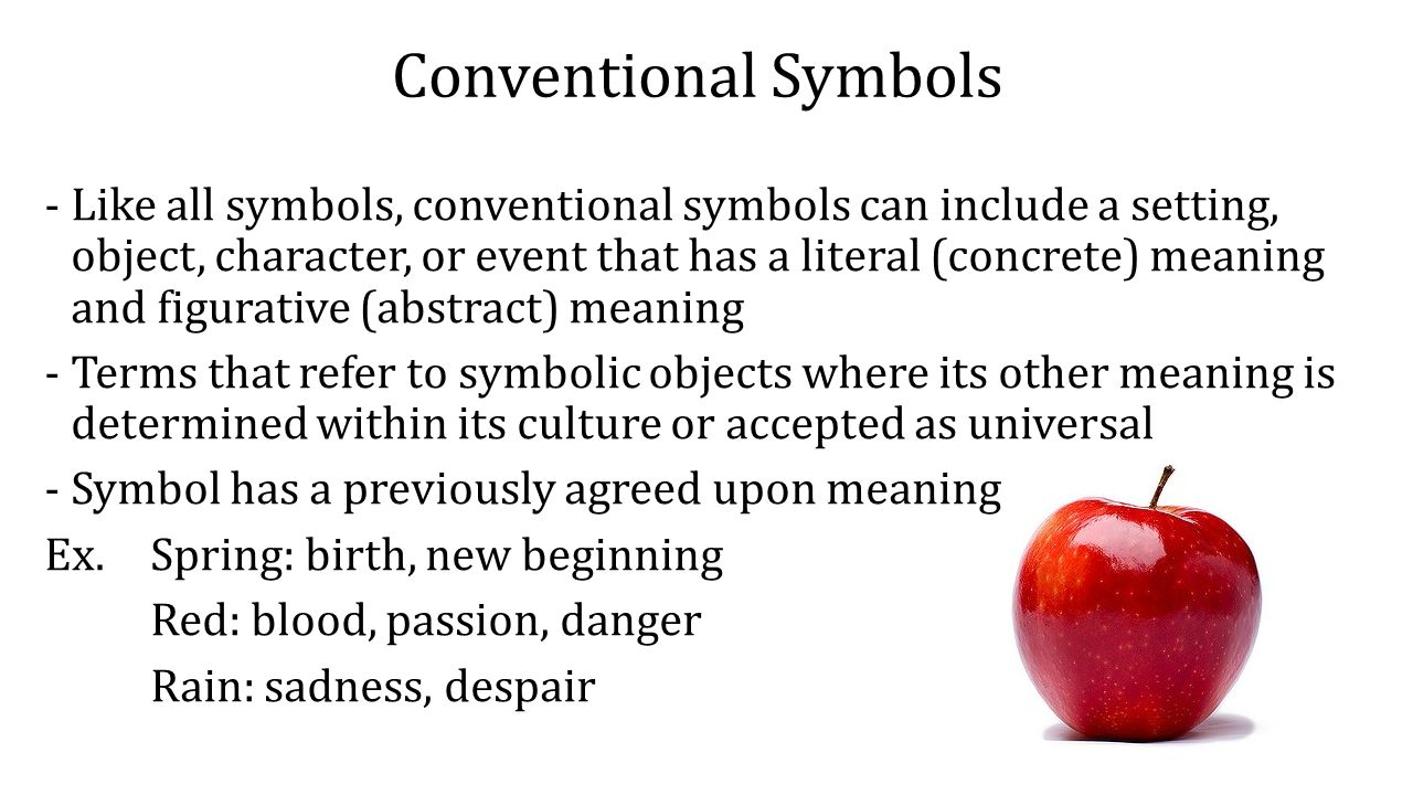 Symbolism symbolism in literature literary device applied to conventional symbols like all symbols conventional symbols can include a setting object biocorpaavc Images