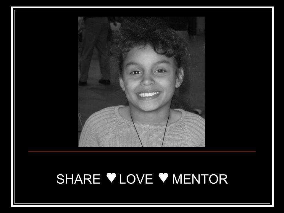 SHARE LOVE MENTOR