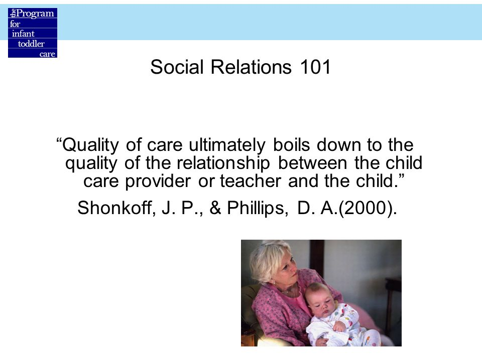 """Including the Infant in the Curriculum """"All children are born wired ..."""