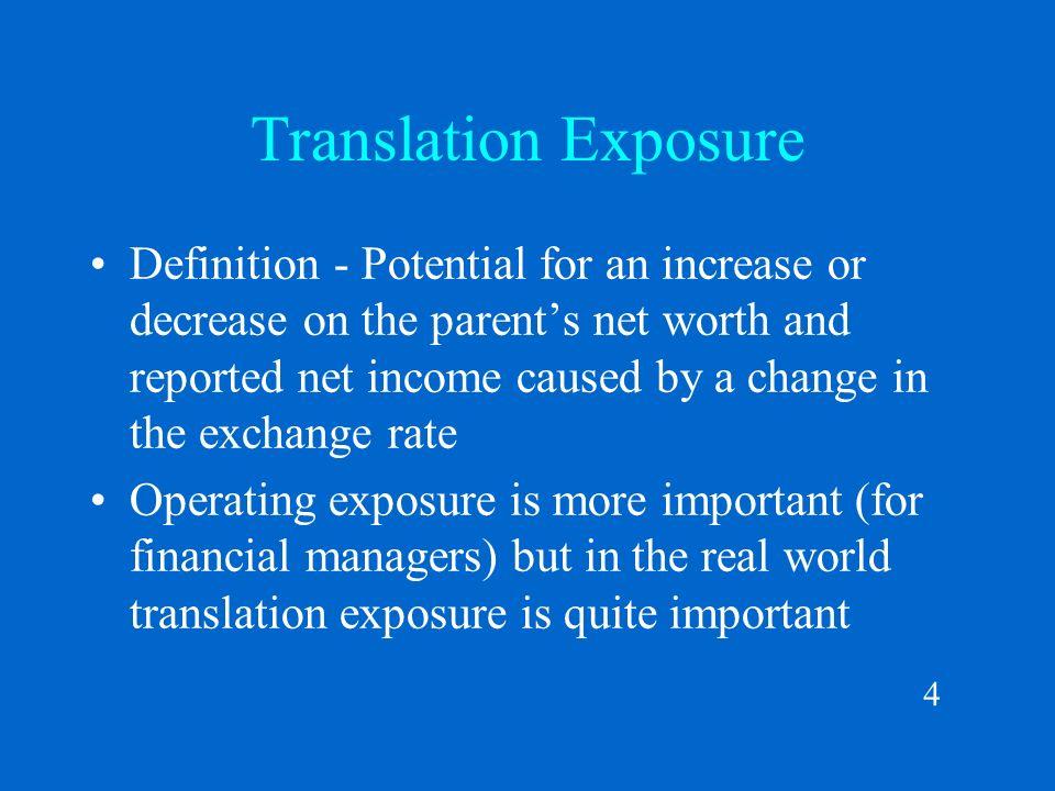 Delightful 4 4 Translation Exposure Definition ...