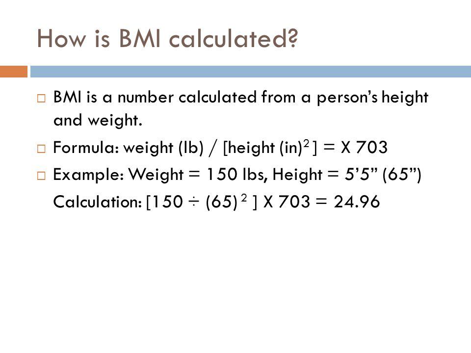 Bmi Calc Equation - Talkchannels