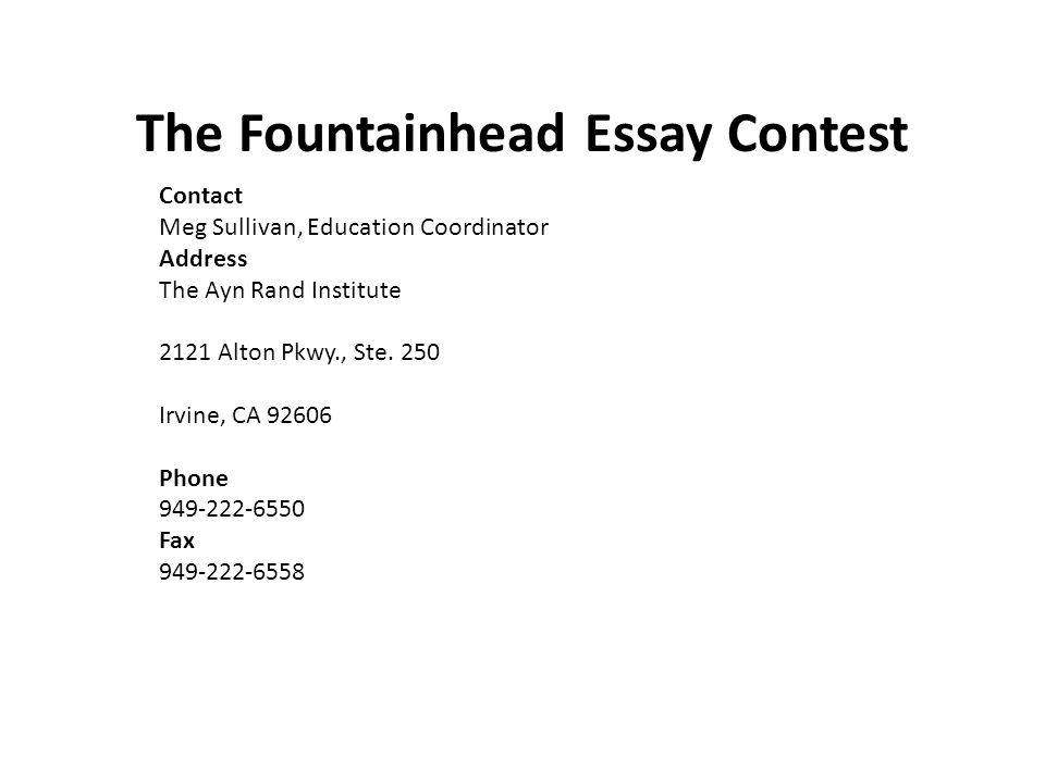contact the americanism and children youth division address the  10 the fountainhead