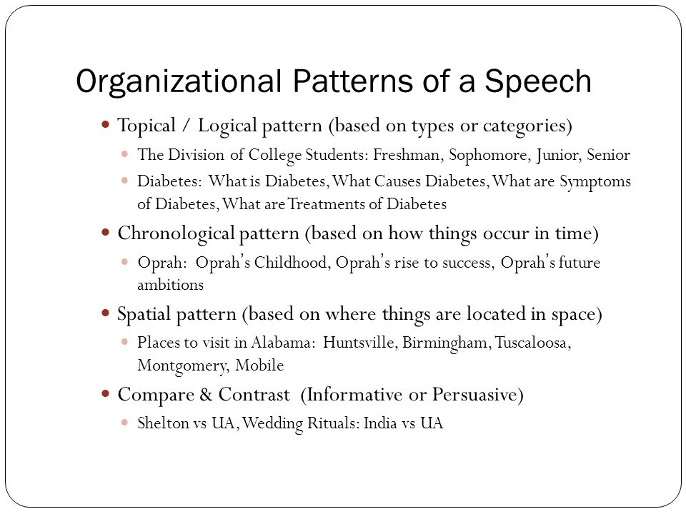 organizational patterns for comparison contrast essays