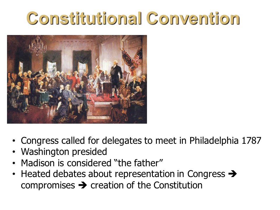 the constitutional convention of 1787 The constitutional convention of 1787 for a heaping helpful of constitutional history as hiphughes dips and dives through the constitutional convention.