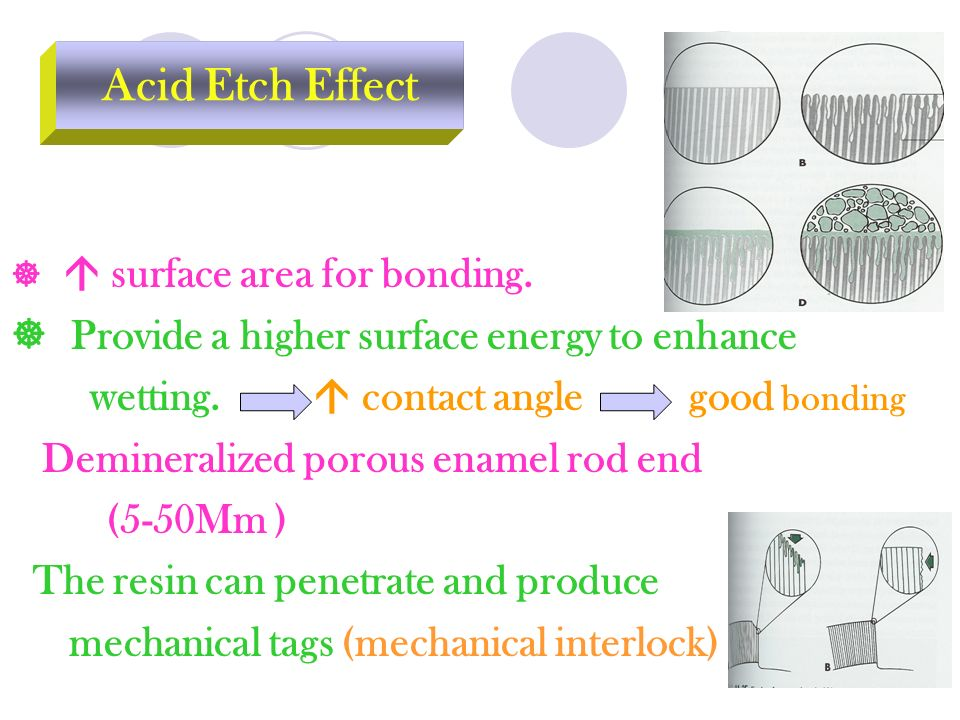   surface area for bonding. Provide a higher surface energy to enhance wetting.