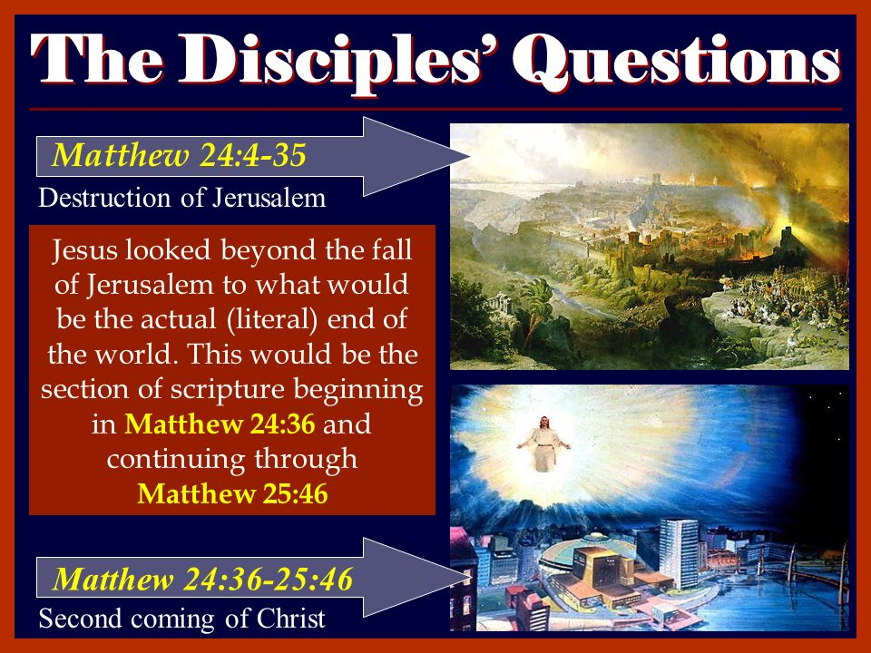 an overview of eschatology a doctrine about the second coming of christ Material relating to the believer's state after death, or the intermediate state, before christ's coming the intermediate state a study in eschatology - a series.