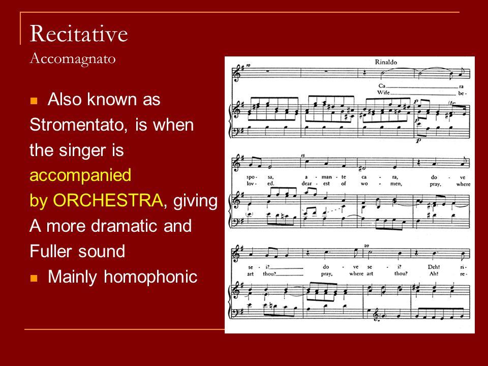 BAROQUE. Orchestral Instruments (Basso) Continuo A accompaniment ...