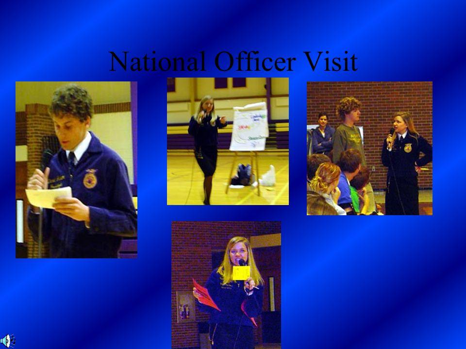 National Officer Visit