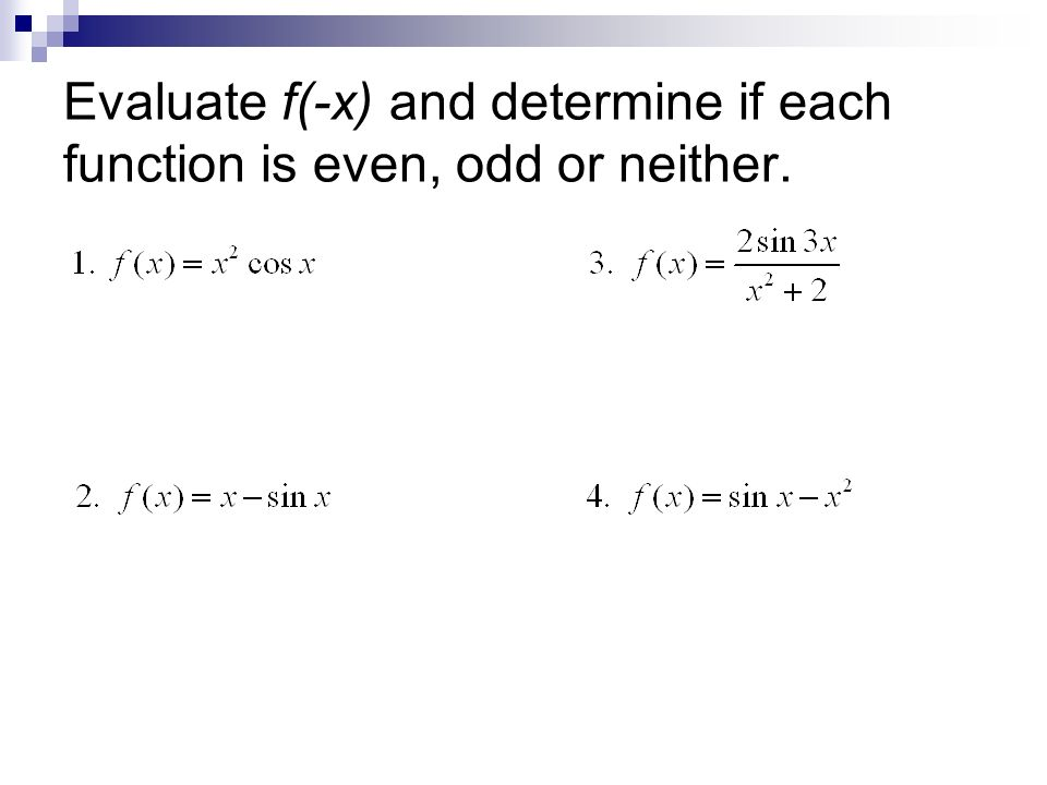 Even Odd Functions Worksheet Heygotomaps – Mathland Worksheets