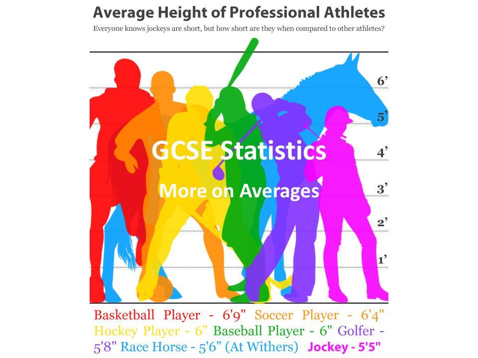 Statistics GCSE?