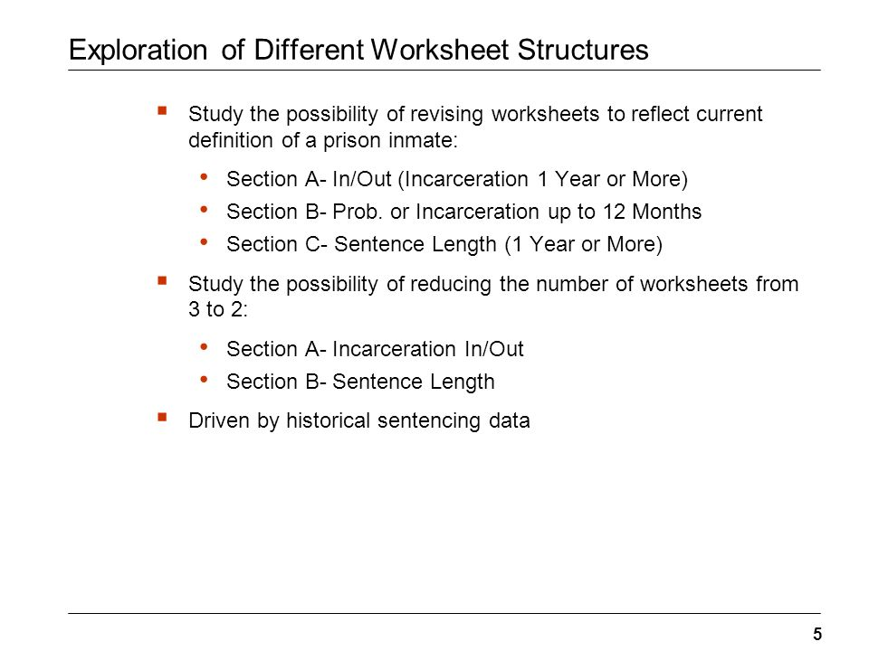 Review of Guidelines Worksheet Structure – Data Analysis. - ppt ...