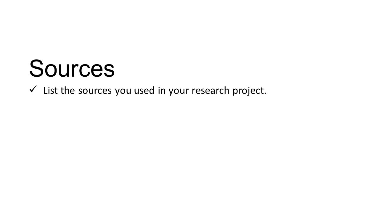 Animal Research Project Template This is a PowerPoint template for – Research Project Template