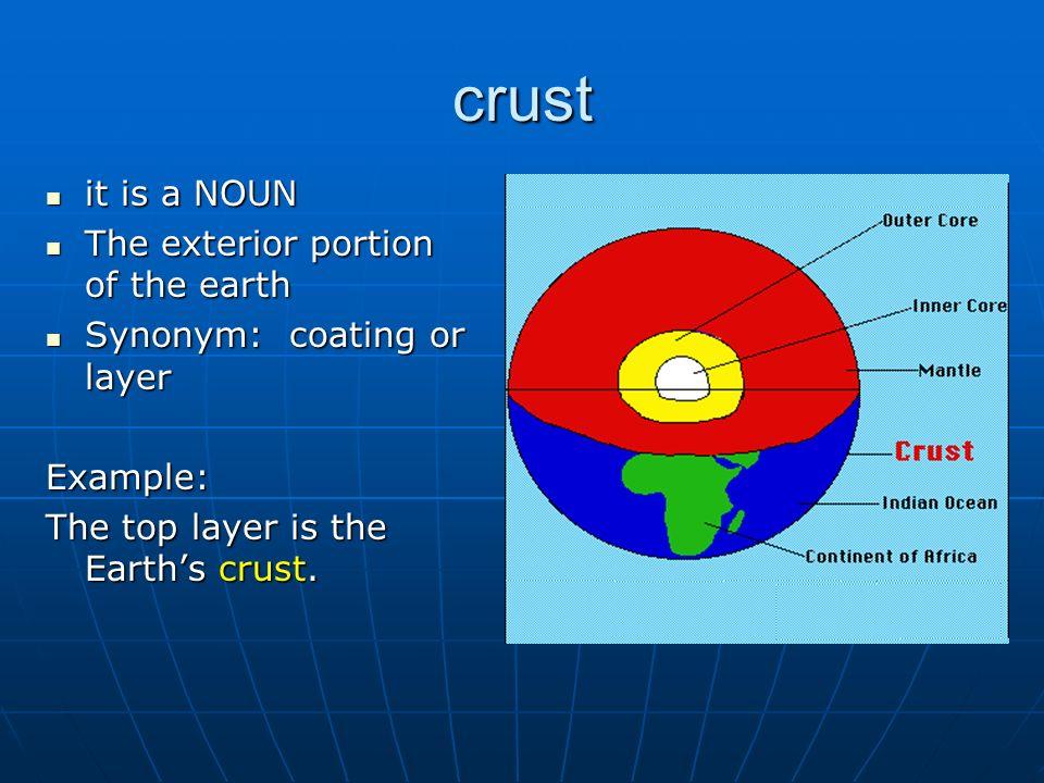 8 Crust ...
