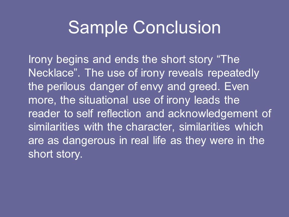human condition short story