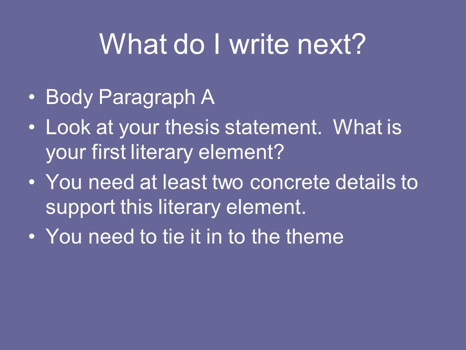 i need help with my thesis statement The sentence that captures your position on this main idea is what we call a thesis statement how long does it need to be a about and also help guide.