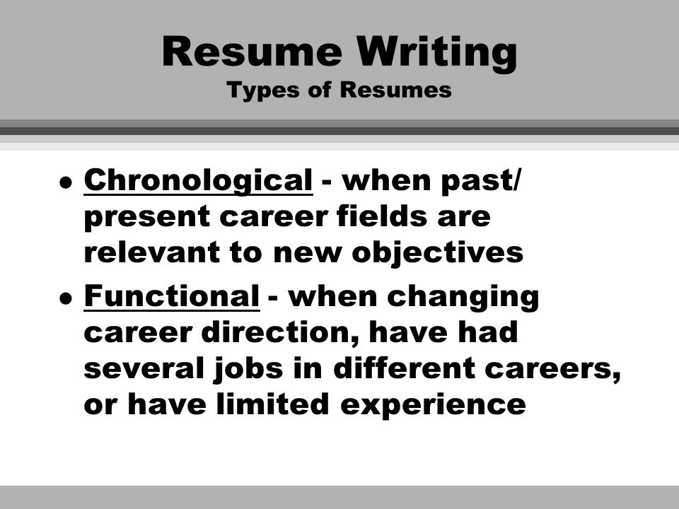 changing career fields