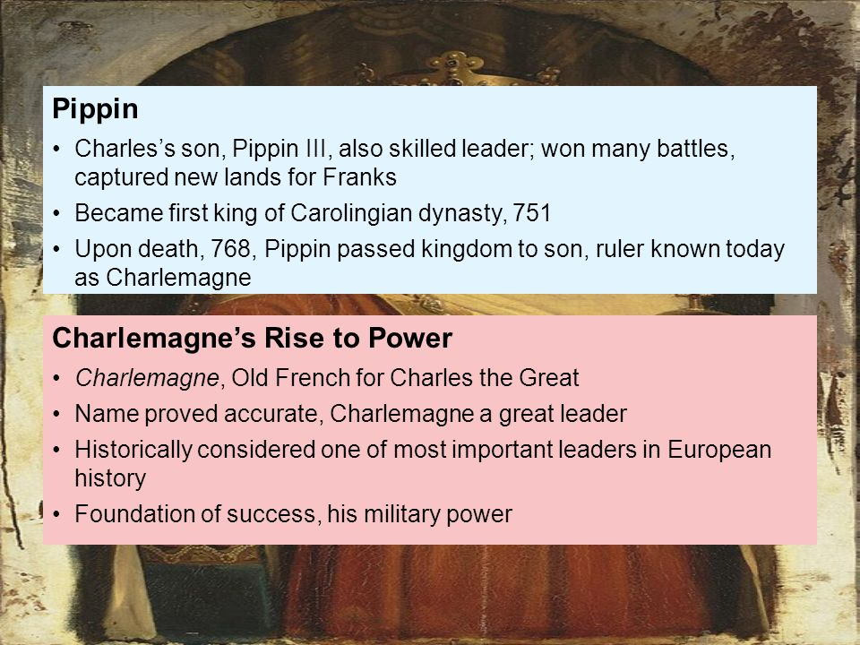 Question about Charlemagne...need help please?