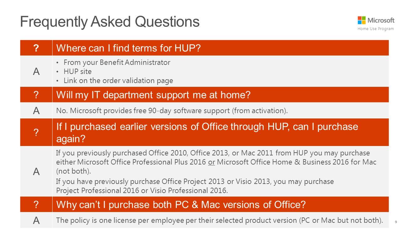 9 home - Microsoft Visio Home Use Program