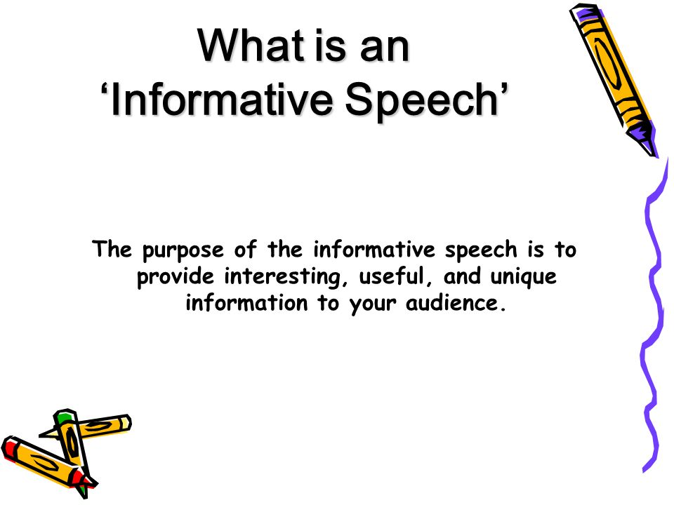 conclusion for informative speech