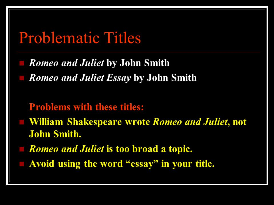 fate essay for romeo and juliet