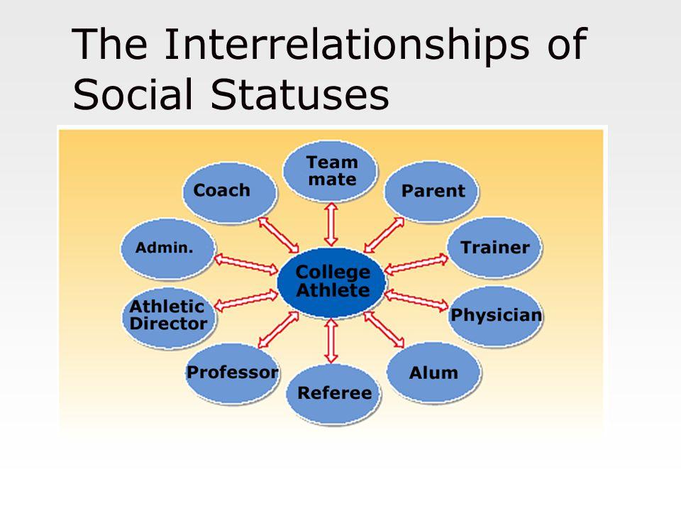 The Interrelationships of Social Statuses