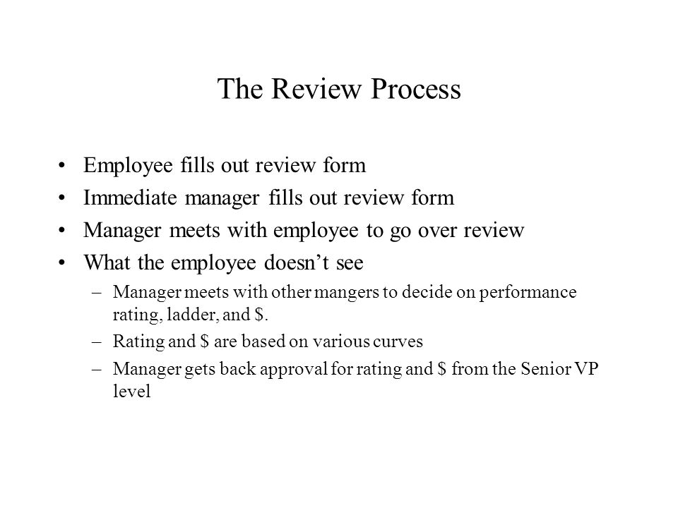Cse403 Software Engineering Autumn 2000 Performance Reviews Gary