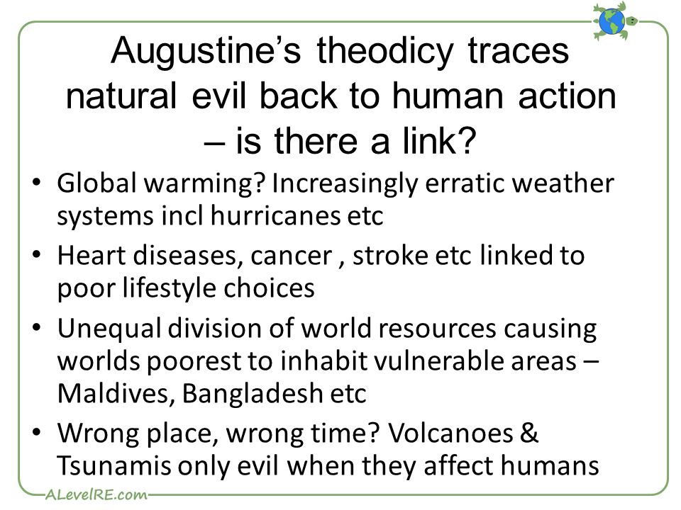 theodicy free will and natural evil essay