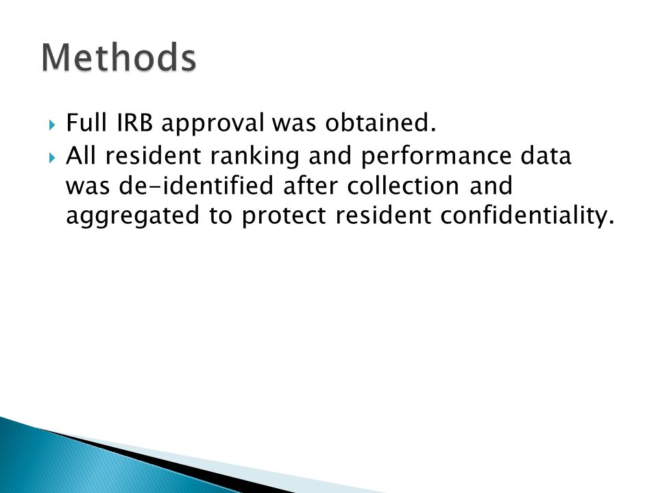  Full IRB approval was obtained.