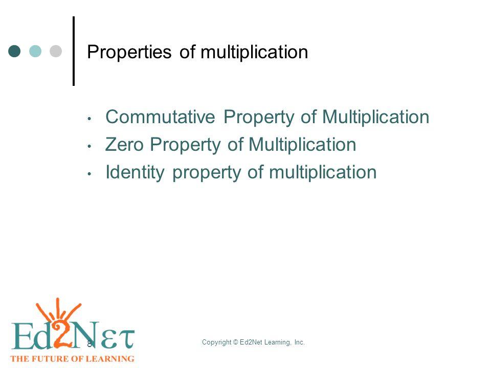 zero property of multiplication worksheet Brandonbriceus – Zero Property of Multiplication Worksheet