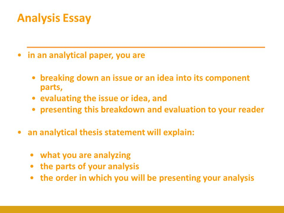 Buy analysis essay examples