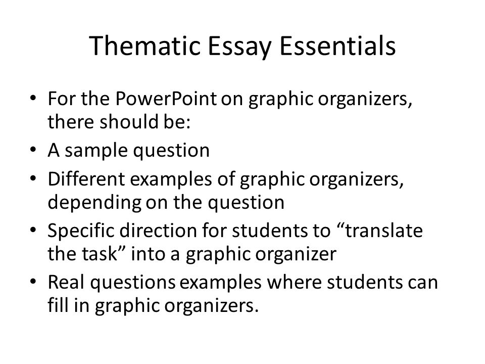 list of essay themes Using these 6 sat essay examples, you can answer any sat essay prompt you see on test day call direct: 1 6 sat essay examples to answer every prompt.