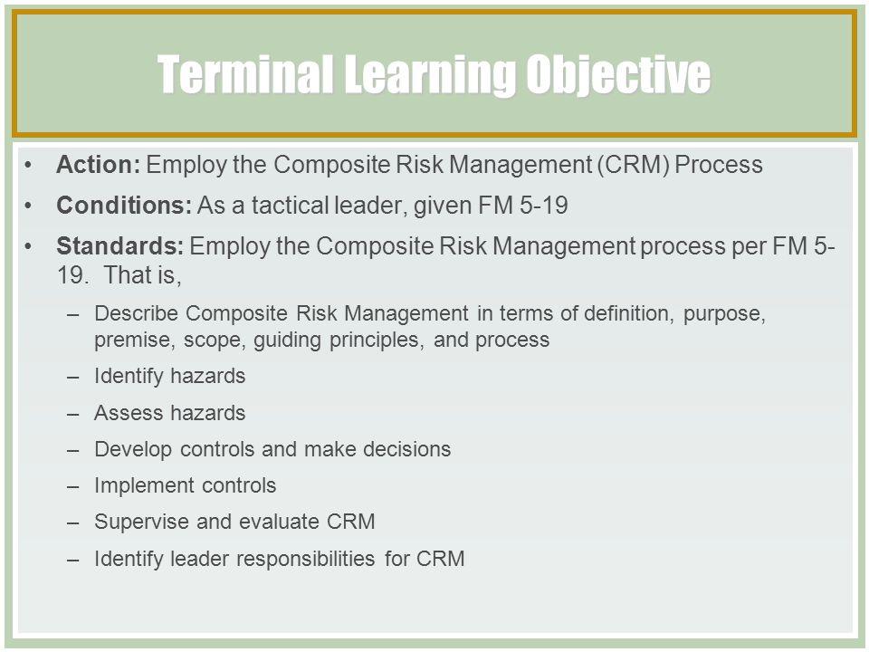 Composite Risk Management Worksheet Worksheet – Army Crm Worksheet