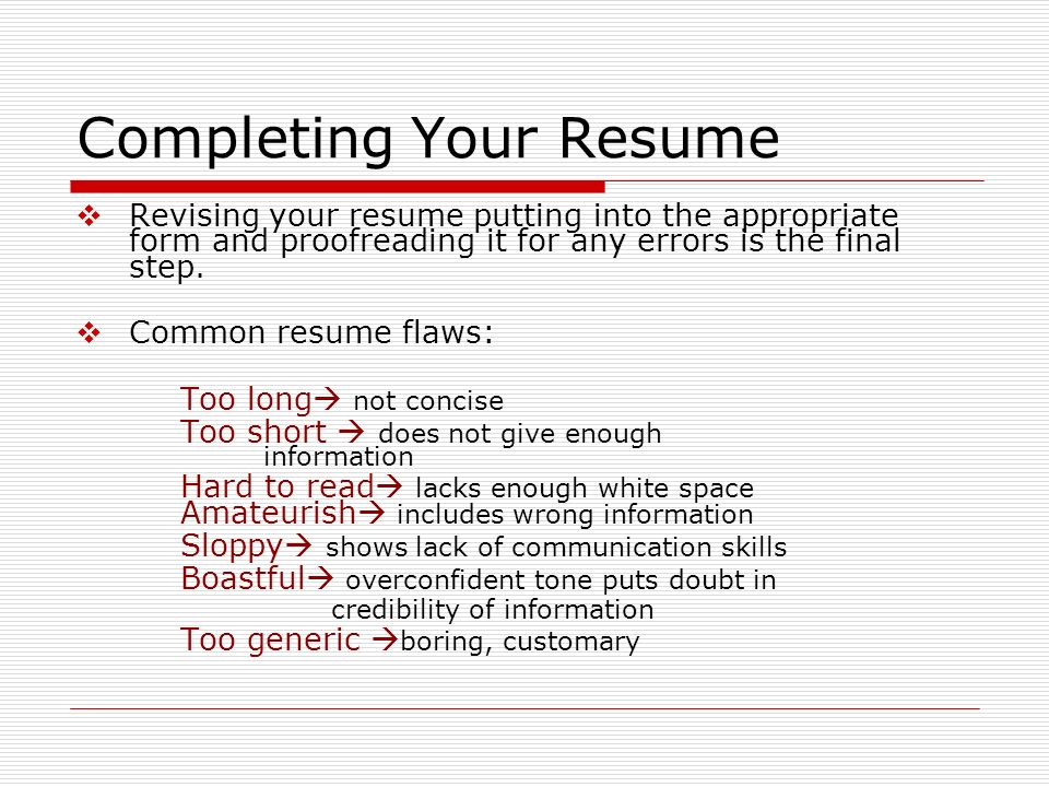 building careers and writing resumes prepared by fahad alsulaim
