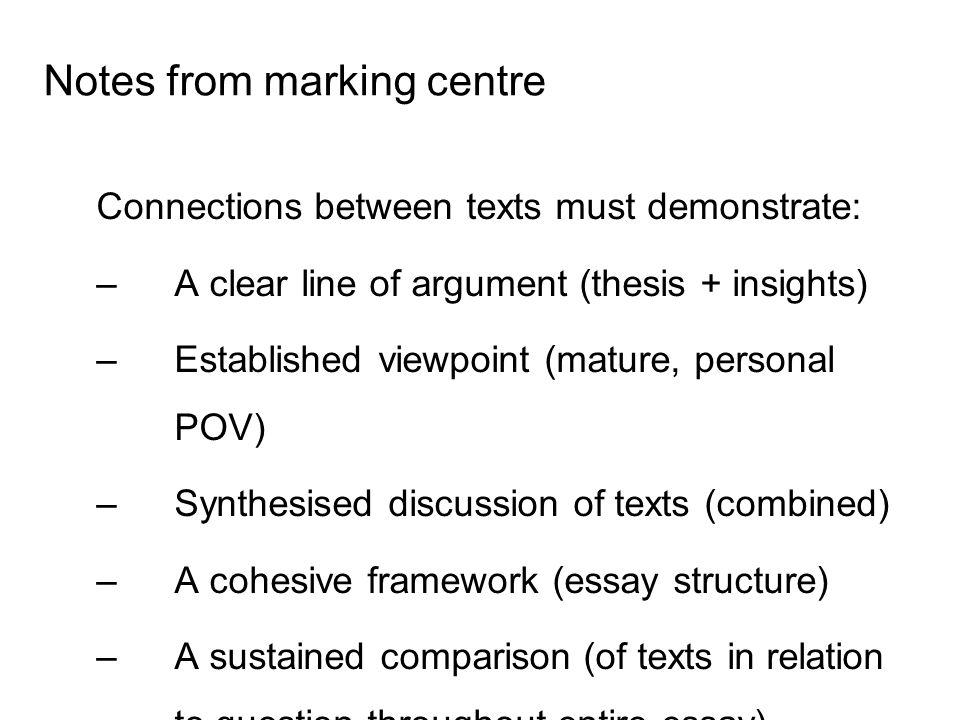 hsc english belonging essay questions