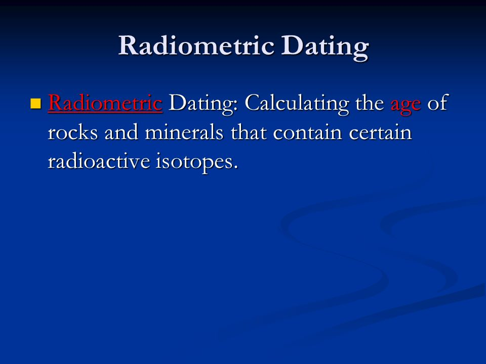 What Can Radiometric Dating Tell You About The Age Of Rocks