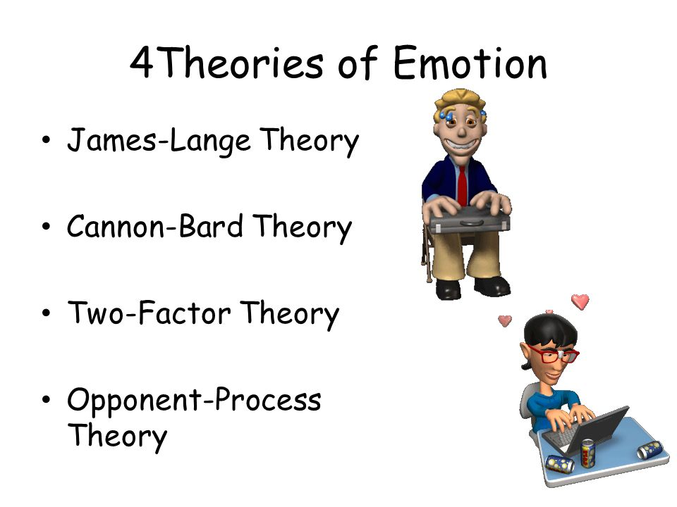 emotions emotion and cannon bard A summary of theories of emotion the resulting cannon-bard theory schachter and singer agree with the james-lange theory that people infer emotions when.