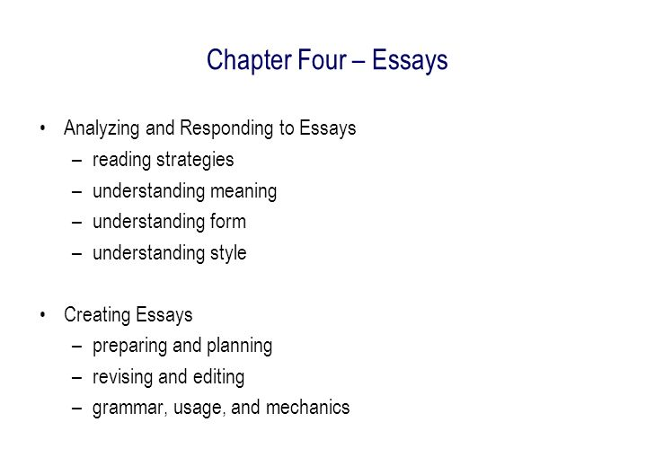 essays on reading strategies Six key strategies for teachers of english-language learners reading, and writing collaboratively about the strategies have extended from santa cruz to.